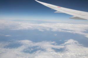 留学飛行機イメージ画像