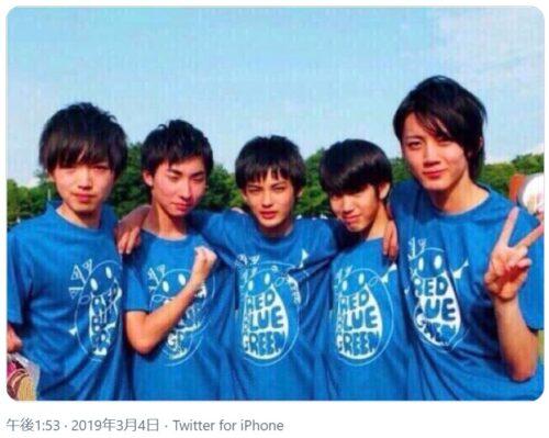神尾楓珠イケメン俳優高校時代の画像