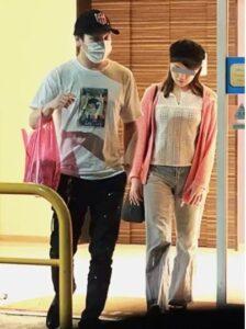 狩野英孝と結婚相手のさきさん画像