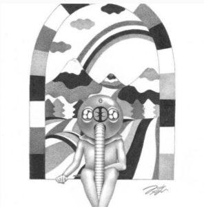 光宗薫ボールペン画の画像