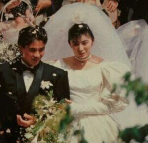 郷ひろみと二谷友里恵結婚画像