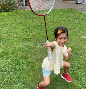 潮田玲子の子供画像